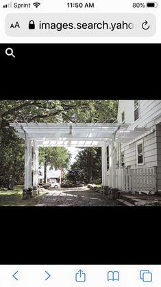 Enclosed Carport, Mansions, House Styles, Home Decor, Decoration Home, Manor Houses, Room Decor, Villas, Mansion