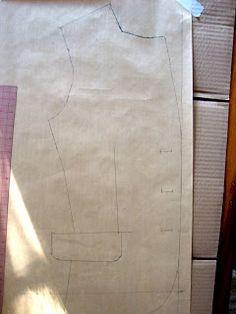 Hoe een patroon van bestaande kleding maken  How to Copy Ready-to-Wear