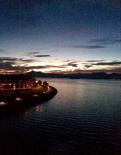 Восход в Молде Норвегия