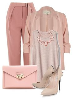 """Untitled #1882"" by azra-90 ❤ liked on Polyvore featuring Topshop, River Island, Gap, Thalia Sodi and Casadei"