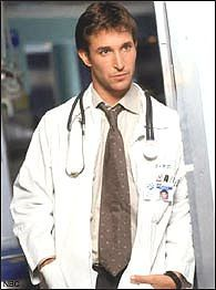 Noah Wiley was a young doctor on ER.