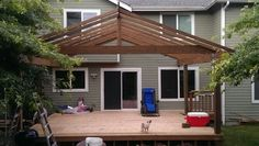 Hello covered deck
