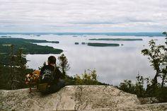 Koli on Pohjois-Karjalan korkein vaara Pielisen rannalla Lieksassa.