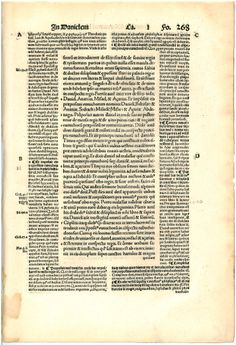 1516 commentary on the book of Daniel, printed by Froben Press, Basel