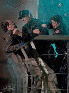 No not our Rodney!!!!! David Hewlett as Dr. Rodney McKay SGA The Storm S1E10