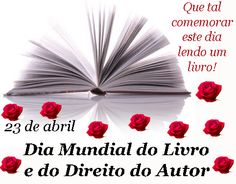 Blog do Professor Andrio: ESPECIAL:DIA MUNDIAL DO LIVRO