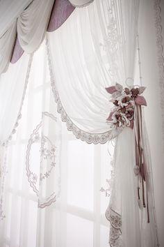 Sofia tenda - Chicca Orlando - Italian Craftmanship - Luxury texile furnitures for you home