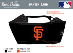 Custom Giants band in black