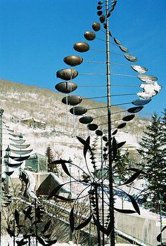 Wind Art. Garden SculptureSculpture MetalWind ...