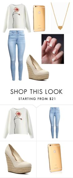 """""""Nobody Love"""" by forever-young114 ❤ liked on Polyvore featuring H&M, Madden Girl, Goldgenie, Minnie Grace, women's clothing, women, female, woman, misses and juniors"""