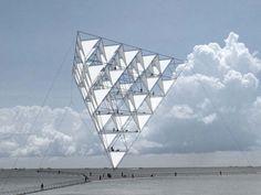 Escultura voladora