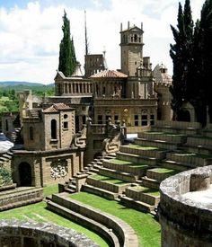Roman Castle Umbria Italy