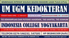INDONESIA CERDAS: BIMBINGAN UTUL UGM 2014 PROGRAM JAMINAN 6 JUNI 201...