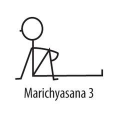 Yoga for Stress Relief Yoga Stick Figures, Yoga Posses, Stick Figure Drawing, Yoga For Stress Relief, Chair Yoga, Figure Poses, Yoga Journal, Body Love, Yoga Teacher Training