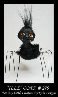Art Doll Polymer Clay Fantasy Miniature ADSG CDHM OOAK IADR Dragon Spider   eBay