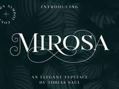 MIROSA Font by Graphic Assets