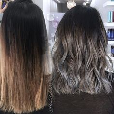 8 pretty pictures that will convince you to try the gray ombre trend this is intriguing solutioingenieria Gallery