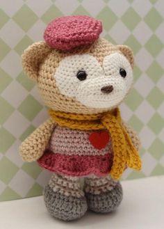 Amigurumi Pattern - Satori the Monkey Pattern by LittleMuggles