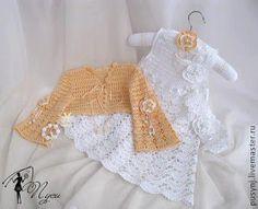 Croche pro Bebe: petites robes trouvés sur le net, pure inspiration ....
