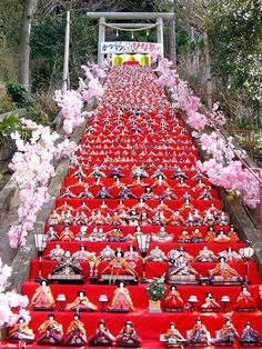 March 3rd - Hinamatsuri  Japansese Girls' Day Doll Festival
