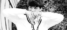 Waahh cutie Jongin (gif)