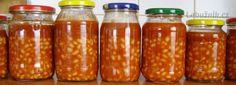Fazole v tomatě - konzerva Salsa, Homemade, Food, Home Made, Essen, Salsa Music, Meals, Yemek, Hand Made