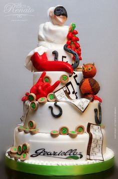 1000+ images about La Torte Di Renato Cake Designs and ...