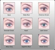 pictures of eye colors