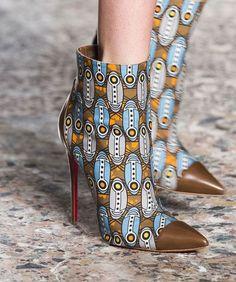 Stella Jean 2018-2019 #boots #fashion #style #vanessacrestto