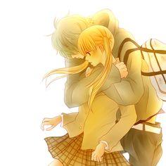 Shizuku & Haru - Tonari no Kaibutsu-kun / My Little Monster My Little Monster, Little Monsters, Shizuku And Haru, Shizuku Mizutani, Manga Love, I Love Anime, Me Me Me Anime, Awesome Anime, Noragami