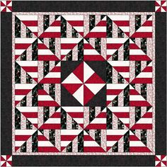 Pinwheel Twist Quilt-pattern for sale on Etsy - use for inspiration
