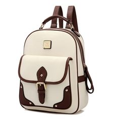Travel Essential Vintage Leather Bag-Pack