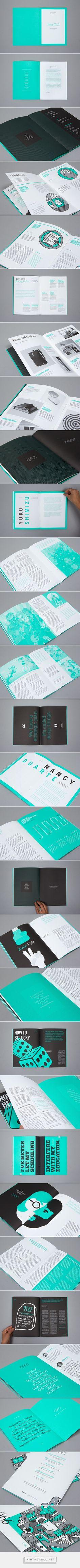99U Quarterly Magazine :: Issue No.3 on Behance - created via https://pinthemall.net