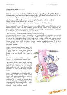 AKTIVITY S DĚTMI - Stáhněte si ZDARMA e-knihu č.4 Pohádky a básničky Hana, Preschool, Teddy Bear, Words, Crafting, Kid Garden, Teddy Bears, Kindergarten, Preschools