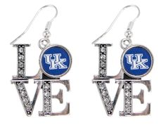 Kentucky LOVE Logo Earrings | Zokee