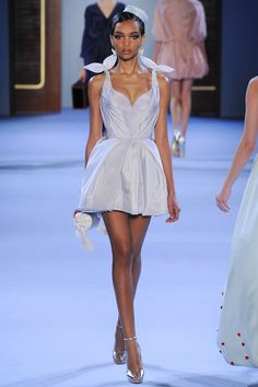 Ulyana Sergeenko   Spring 2014 Couture Collection   Style.com