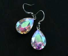 Hey, I found this really awesome Etsy listing at http://www.etsy.com/listing/104372666/crystal-opal-earrings-rainbow-teardrops