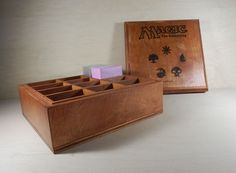 Custom MTG 12 Deck Box Holds Standard Sized Decks Magic the Gathering on Etsy, $105.95