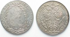 1778 Haus Habsburg RDR - HALL 20 Kreuzer 1778 VC-S MARIA THERESIA Silber PRACHTSTÜCK!!! # 95158 st Maria Theresia, Coin Collecting, Austria, Mint, Personalized Items, House, Silver, Peppermint