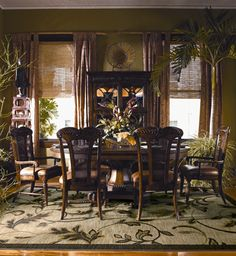 Oh wow... Love the rug and thechairs