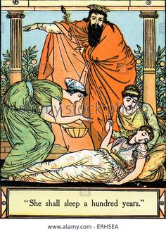Sleeping Beauty written and illustrated by Walter Crane