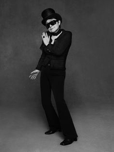 Yoko Ono   THE LITTLE BLACK JACKET - CHANEL ONLINE EXHIBITION