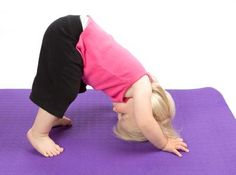 tips for doing yoga with your kids!