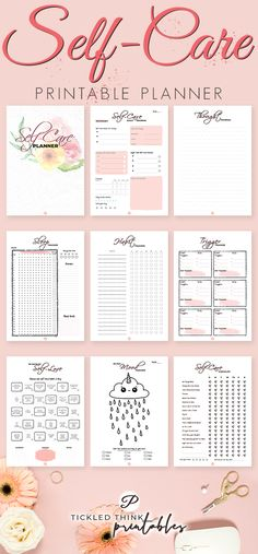 Feeling stressed and overwhelmed? Self care is not selfishness. This is important to your overall health, happiness and stress management. With the help of this self care printable planner, you can now start taking care of yourself every day, improve Monthly Planner, Life Planner, Happy Planner, Year Planner, Planner Book, Feeling Stressed, How Are You Feeling, Feeling Overwhelmed, Sticker Printable