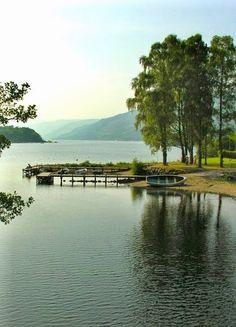 Loch Earn, Scotland by Will Venedor