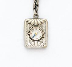 Antique German Art Nouveau Pocket Watch Chain with Compass by TheCompassCollector on Etsy https://www.etsy.com/listing/206738419/antique-german-art-nouveau-pocket-watch
