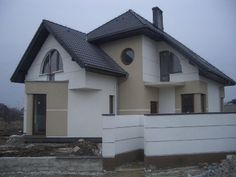 Imagini pentru elewacje domów Home Fashion, Mansions, House Styles, Home Decor, Decoration Home, Manor Houses, Room Decor, Villas, Mansion