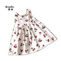 HOT 2016 New Sunny Fashion Flower Girl Dress Cherry Fruit Cotton...