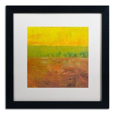 'Highway Series Soil' by Michelle Calkins Framed Painting Print