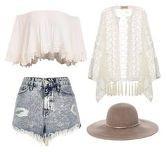 A fashion look from June 2016 featuring off the shoulder crop top, white lace top and jean shorts. Browse and shop related looks. Lace Shorts, Jean Shorts, Adriana Degreas, Eugenia Kim, River Island, White Lace, Off The Shoulder, Fashion Looks, Crop Tops
